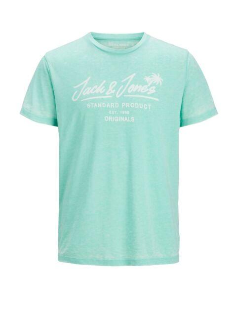 Jack /& Jones Originals T-Shirt JORReally Mens Summer Logo Print Short Sleeve Tee