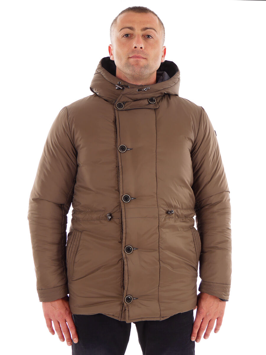 CMP inflexión chaqueta de transición chaqueta función chaqueta marrón capucha transpirable