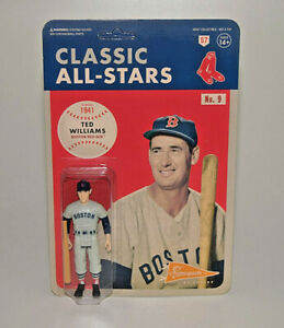Ted Williams Super7 Classic All-Stars Boston MLB Red Sox ReAction Action Figure