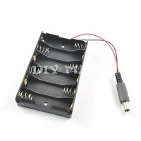 Plastic 6* AA Battery Case Holder Cell for 6 AA 6*1.5V Batteries for Arduino