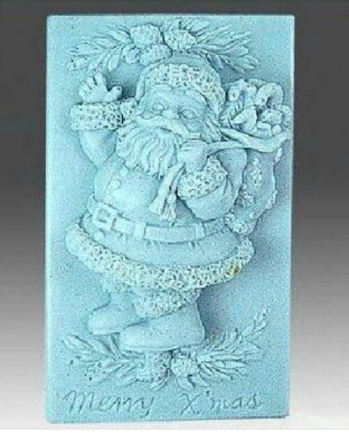 Father Christmas  Silicone Mould for soaps, chocolates