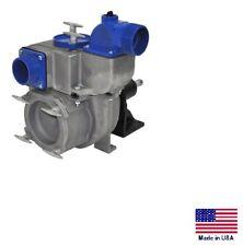Trash Pump Belt Or Direct Drive Commercial Aluminum 30000 Gph 4 Ports