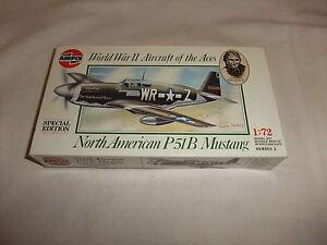 Flugzeug Modell Bausatz 1:72 Airfix North American P51b Mustang 2. Weltkrieg Usa Reichhaltiges Angebot Und Schnelle Lieferung