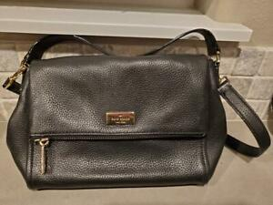 Kate-Spade-New-York-Miri-Chester-Street-Women-039-s-Handbag-Black-Leather