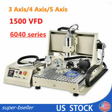 3d 3axis4axis5axis 6040 Engraver Metal Cutting Milling Machines Usb 15kw Vfd