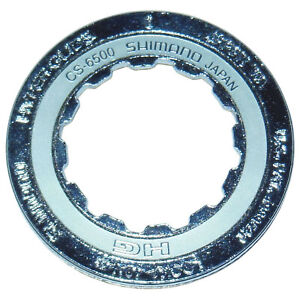 Shimano CS-6500 9 Speed 12t Lockring 15g Silver