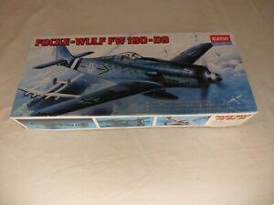 Factory-Sealed-Academy-Focke-Wulf-FW-190-D9-German-WWII-Model-Airplane-1-72