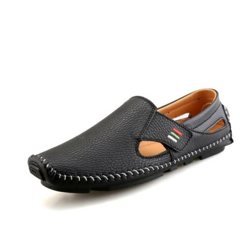 Comfy Boat Shoes Men/'s Summer Slip On Driving Loafers Casual Leather Flat Shoes