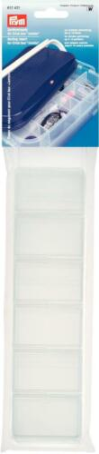 Prym Sortiereinsatz für Jumbo Click Box 39,8x25,7x6,7 cm transparent 612421