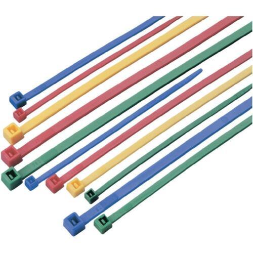 Sujetacables mezclan multicolor de colores surtido 2,5x100