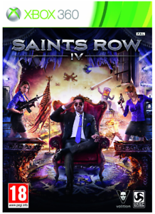 Xbox-360-Saints-Row-IV-4-Nuovo-e-Sigillato-UK-STOCK-Xbox-One-compatibile