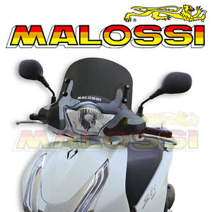 Bulle fumée MALOSSI HONDA SH i ABS 125 150 scooter 2013 et + NEUF 4516053