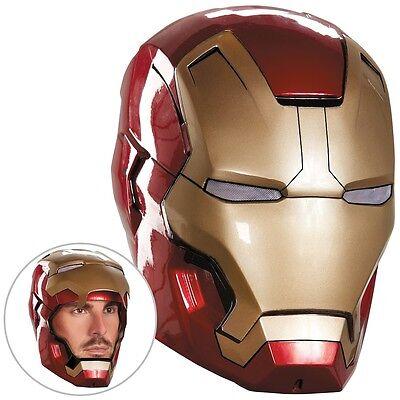 Iron Man 3 Mark 42 Helmet Adult Superhero Movie Halloween Fancy Dress Costume