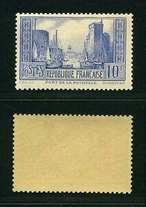 FRANCE-STAMP-TIMBRE-YVERT-261-b-034-PORT-DE-LA-ROCHELLE-034-NEUF-xx-LUXE-VALEUR-185