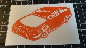 Nascar-style-race-car-custom-Vinyl-Sticker-Window-Tool-Box-Games-Tablets-Walls