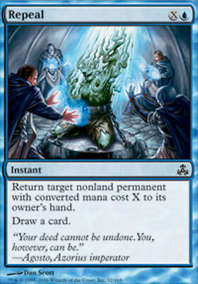 Magic the Gathering Repeal x 4 MTG Guildpact PLAYSET
