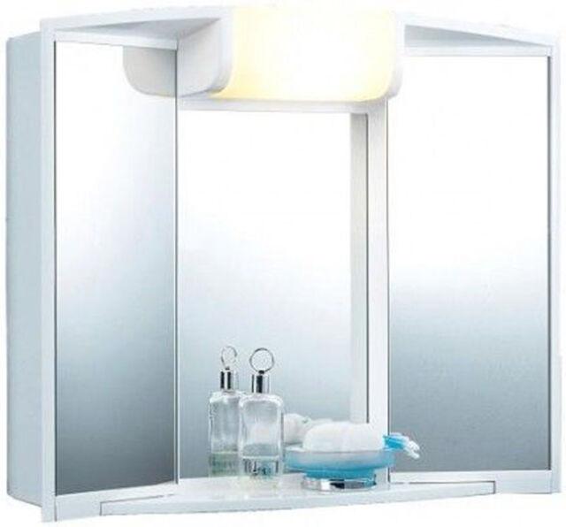 Jokey Spiegelschrank Angy mit Beleuchtung und Steckdose Badschrank Bad Spiegel
