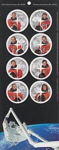 CANADA-1999-48-Canadian-Astronauts-Full-Pane-Booklet-BK276-MNH