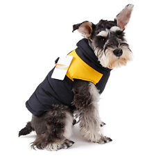 Pet Dog Vest Clothes Small Puppy Dogs  Waterproof Jacket Coat Apparel Yellow L