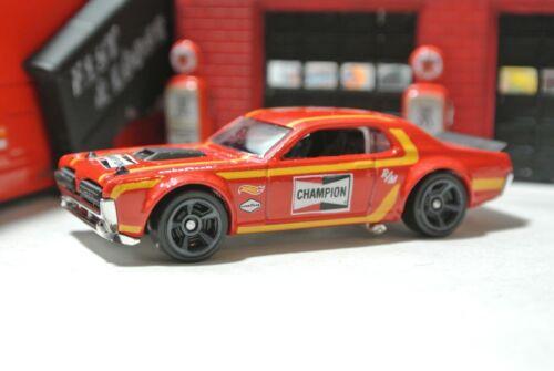 Hot Wheels Loose /'68 Mercury Cougar 1:64 Champion Red