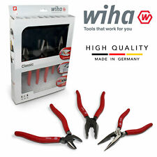 Wiha 26850 3 Piece Plier Set Needle Nose Amp Diagonal Cutters Z99000101