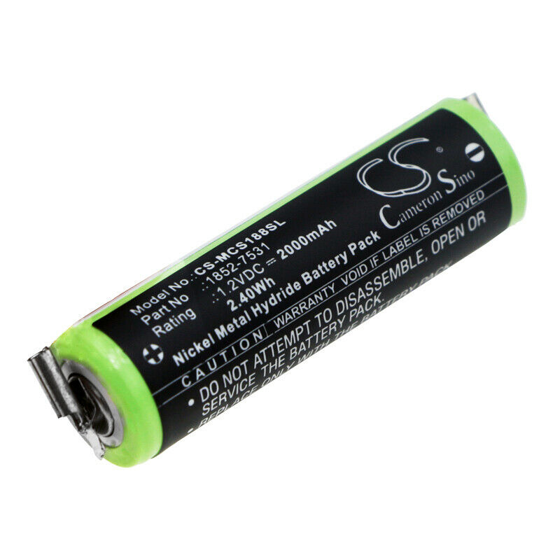 1.2V Battery for Wella Profi XS KR-800 AAE Quality Cell NEW