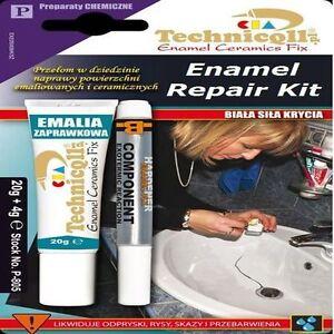 Professional Enamel Repair Kit Bath Sink Shower Tray Chip