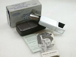 Minox-B-C-Flashgun-For-AG-1-Bulbs-Model-B-Instructions-Case-amp-Box