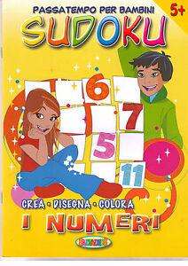 Sudoku Libro nuovo in offerta! Le Forme Salvadeos crea disegna colora
