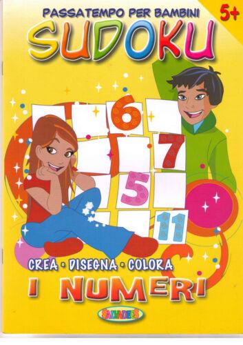 Sudoku, crea disegna colora. I numeri - Salvadeos - Libro nuovo in offerta!