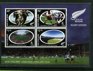 New Zealand 2004 Rugby Sevens sheet MNH