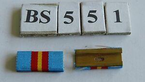 Bandspange-Niederlande-Luftmacht-Medaille-25mm-alte-Art-zum-Aufschieben-BS551