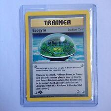 Ecogym Pokemon Card 84/111 1st Edition Neo Genesis Near Mint Minus (NM-)