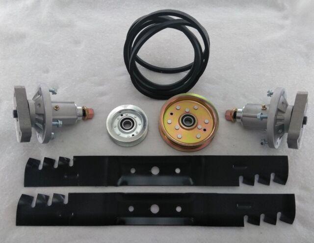 """42/"""" Deck Kit Fits John Deere Belt Blades Spindles L100 L108 L110 L111 L118 L106"""