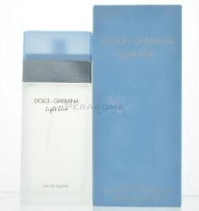 8cd4933e82c6c Light Blue By Dolce and Gabbana Eau De Toilette 3.3 OZ For Women NEW ...