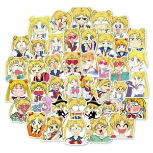 40Pcs-Sailor-Moon-Stickers-Japan-Anime-Character-Printed-Scrapbooking-DIY-W1K2
