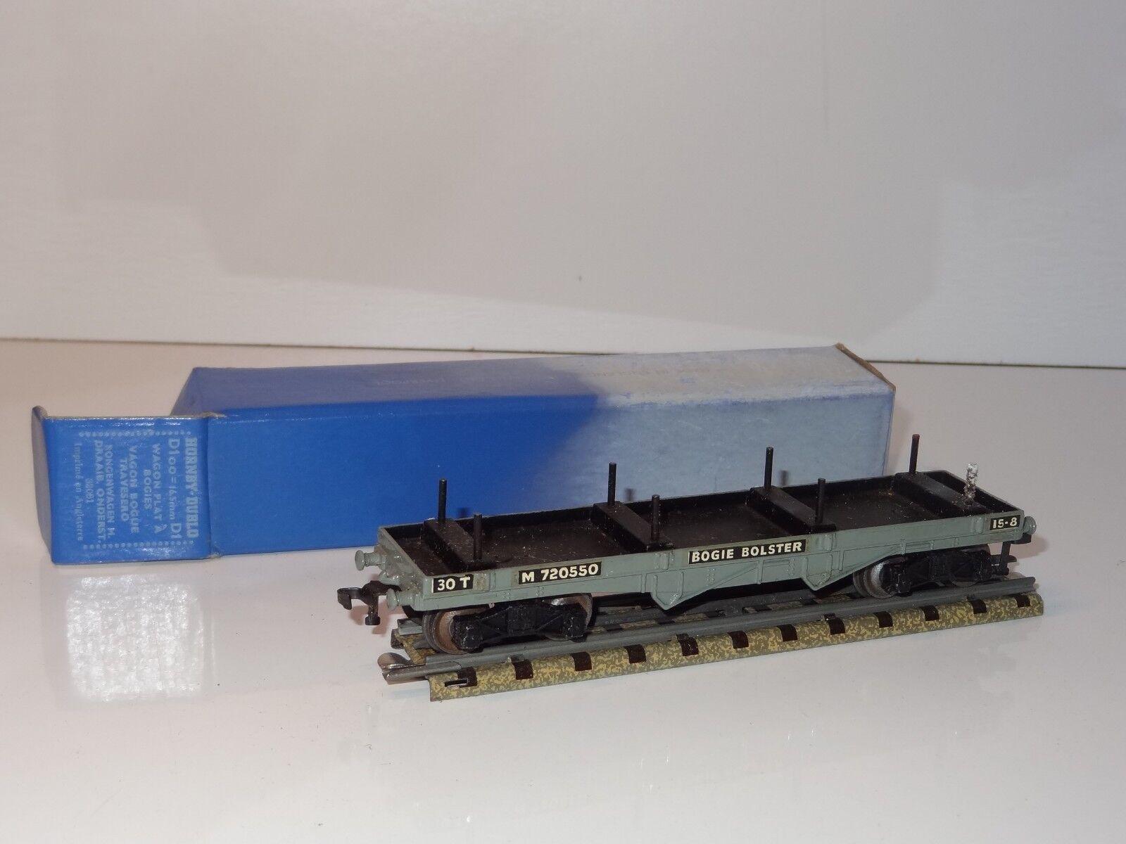 (D) hornby railways 00 dublo BOGIE BOLSTER WAGON - D1