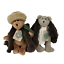 thumbnail 2 - Boyds-Vintage-Aunt-Bessie-and-Skidoo-Plush-Retired-Bears-1990-039-s