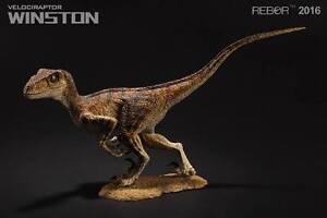 REBOR Velociraptor Alpha Male Winston 1:18 Scale Dinosaur Figurine