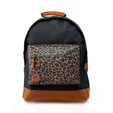 Mi-Pac Leopard Backpack Black/ Leopard Rucksack Leo Animal Print UNISEX Neu