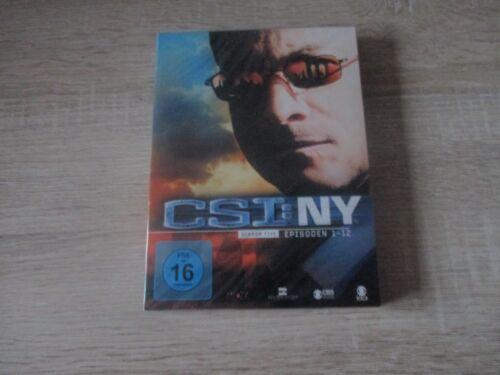 1 von 1 - CSI NY - Season 5.1  --- 3 DVD-Box  --- Serie --- Krimi -- NEU OVP