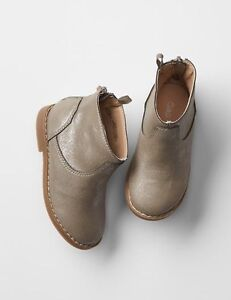 GAP Baby / Toddler Girl Size 7 Metallic Gold / Silver Moto Ankle ...