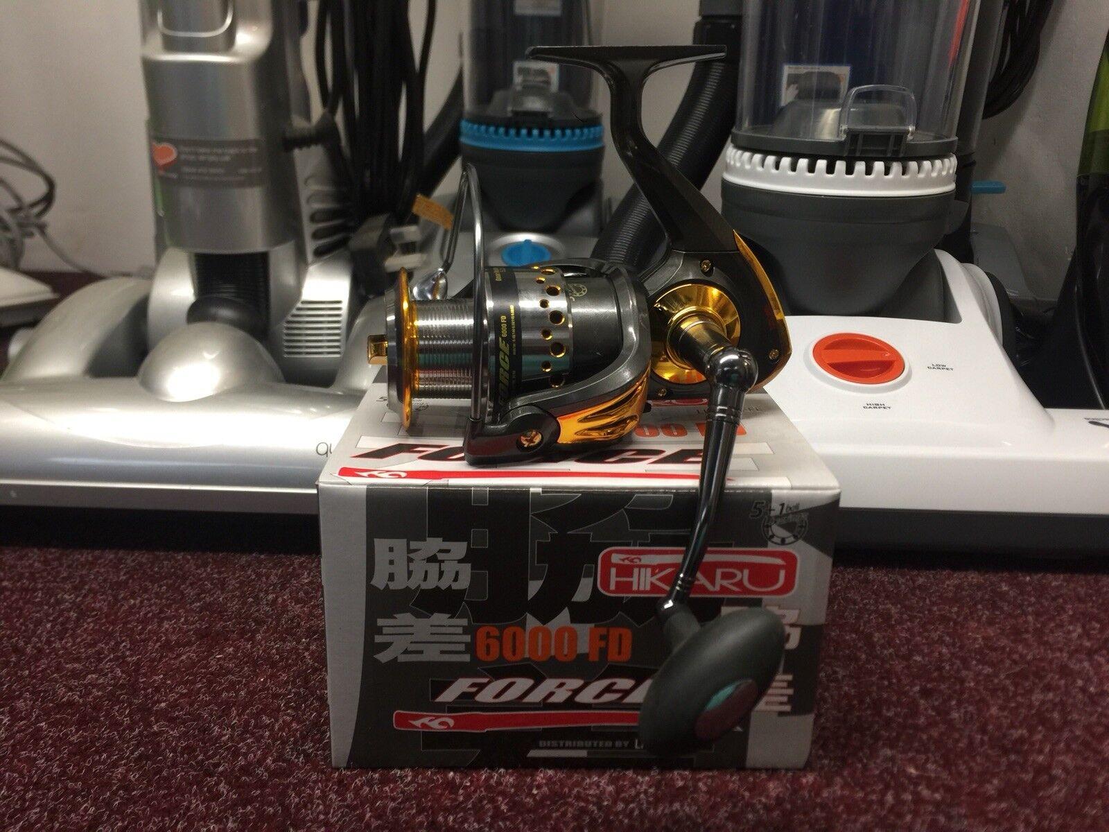 Lineaeffe Hikaru Force 6000 FD Fixed Spool Reel