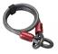 Various Sizes ABUS Cobra Steel Loop Security Chain Bike Lock Cable