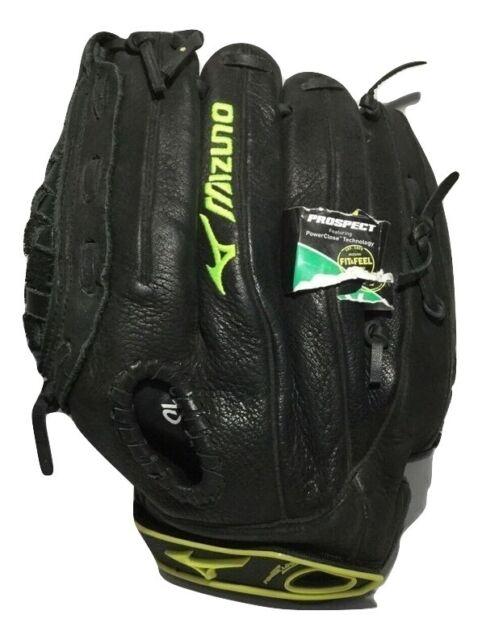 "New Mizuno GPL1200F1 Prospect Series LHT 12"" Glove Youth Softball Black"