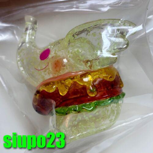 Greenie /& Elfie ~ Elephant Elfie Burger Glow Show Hong Kong GID Edition