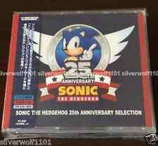 New SONIC THE HEDGEHOG 25TH ANNIVERSARY SELECTION [2 CD+DVD] WWCE31380 Japan