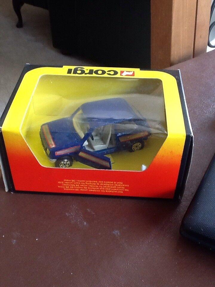 Corgi Toys No 294 Renault Alpine Mint Boxed