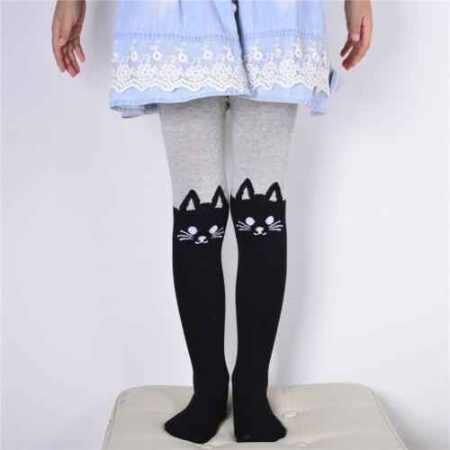 Kids Baby Girls Leggings Slim Pants Children Tight Trousers Long Socks 2-12 Y