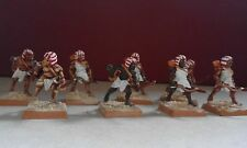 FOUNDRY MINIATURES-ANCIENTS-EGYPTIAN ARCHERS-8x METAL FIGURES PAINTED